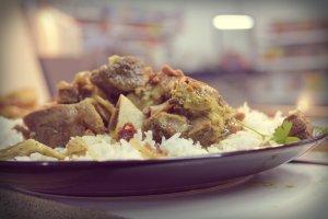 lamb and rice dish